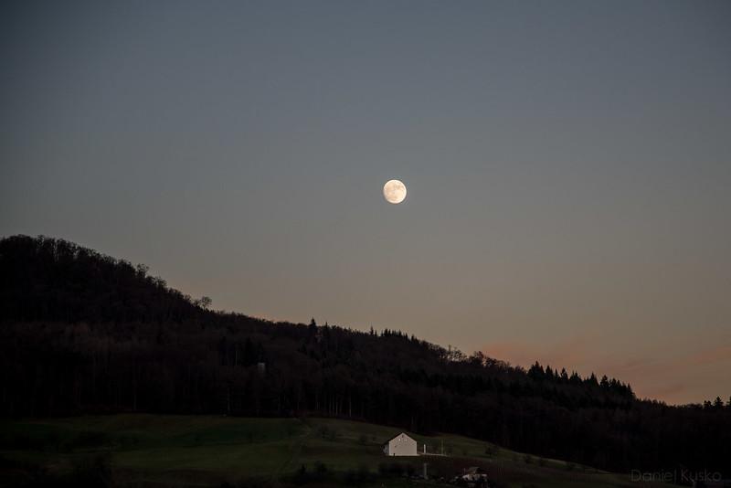 Switzerland at Sunset