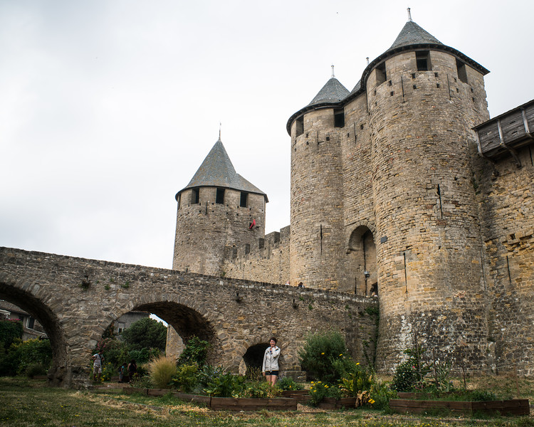 Carcassonne Castle Gardens