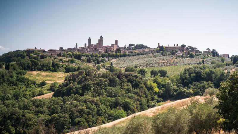 Tuscany countryside, San Gimignano