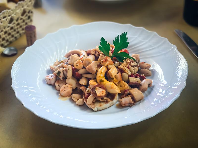 Best octopus dish ever!