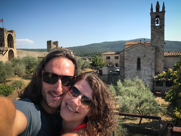 Tuscany, Monteriggioni