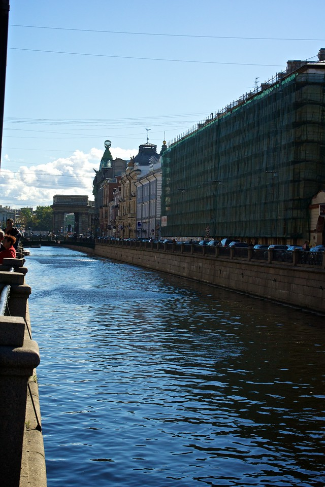 Canal adjacent to the Church of the Spilled Blood.