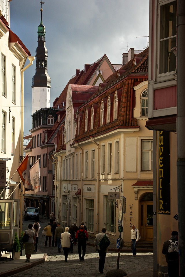 Oldtown Tallinn.