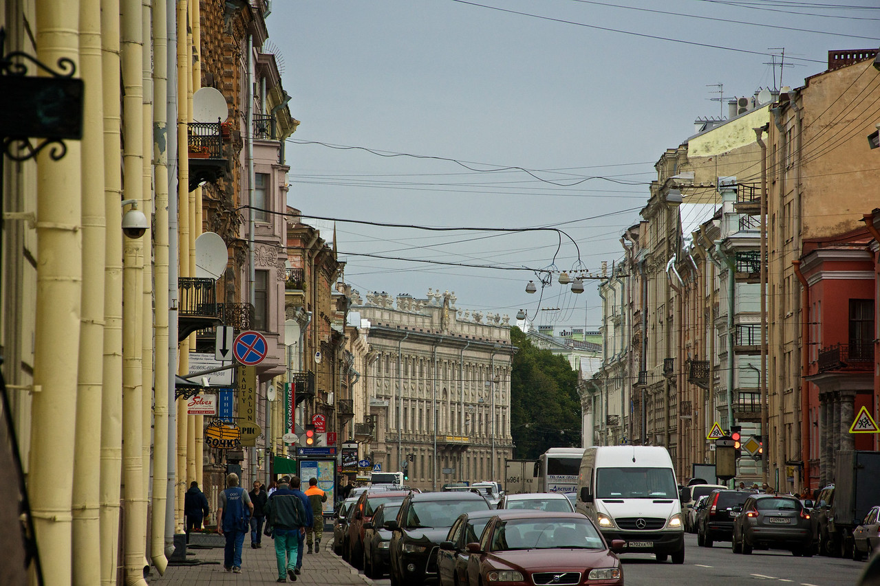 Oldtown St Petersburg.