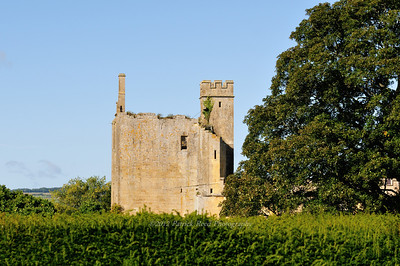 Part of Sudeley Castle that is is in ruin