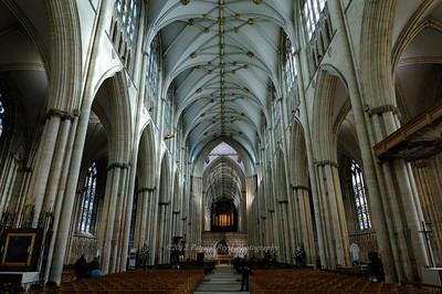 Interior of York Minster