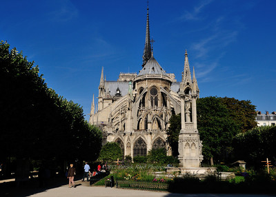 Notre Dame from the back