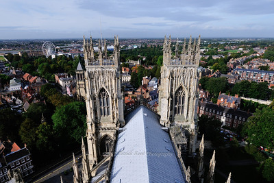 Views from the tower of York Minster