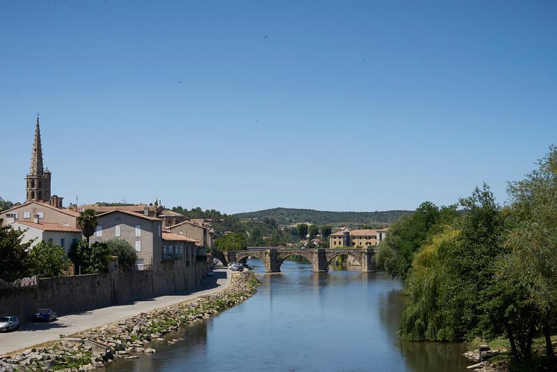River through Limoux