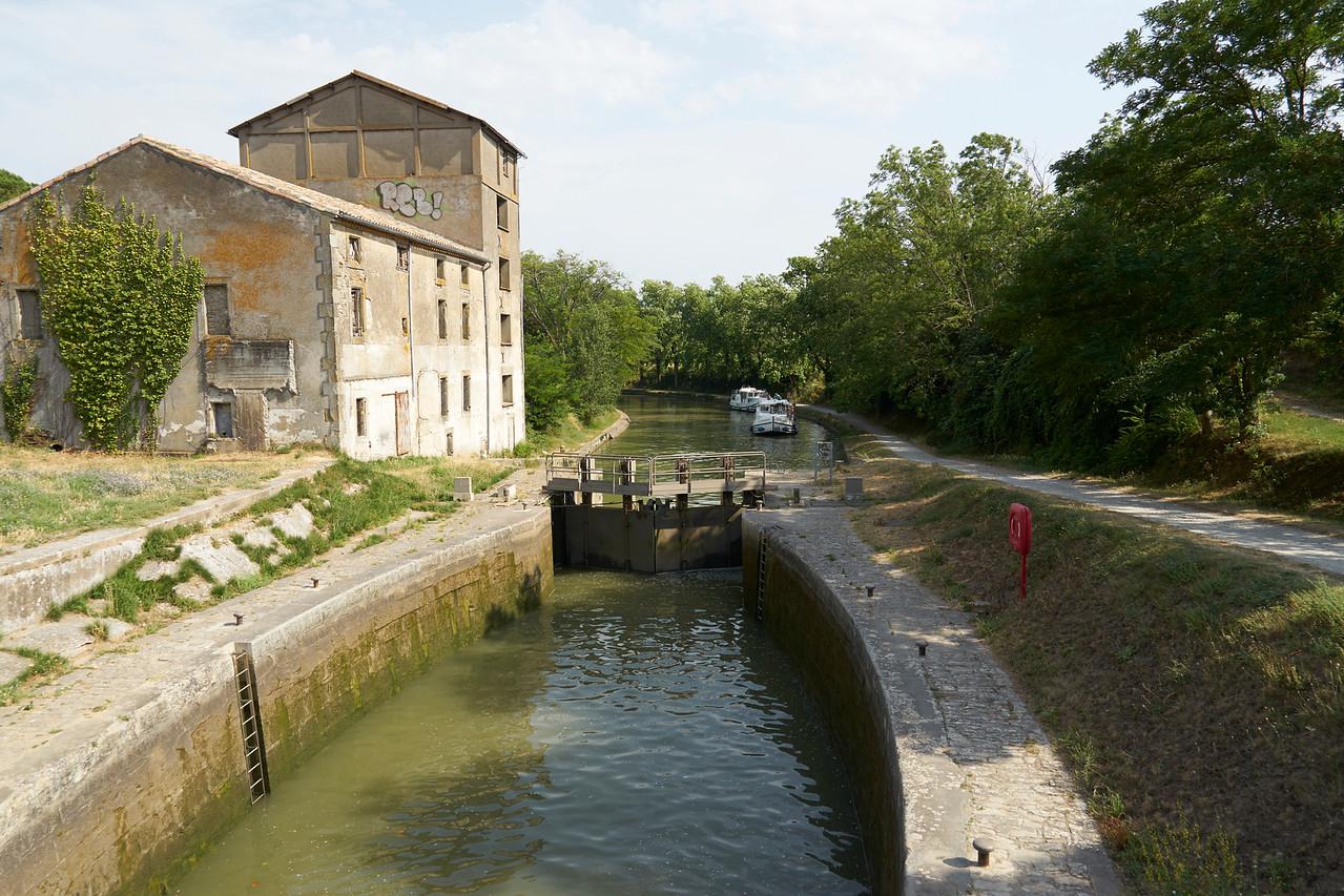 Canal du Midi in Trebes