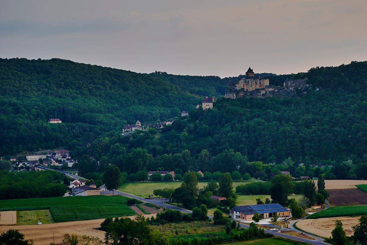 Castelnaud from Marqueyssac