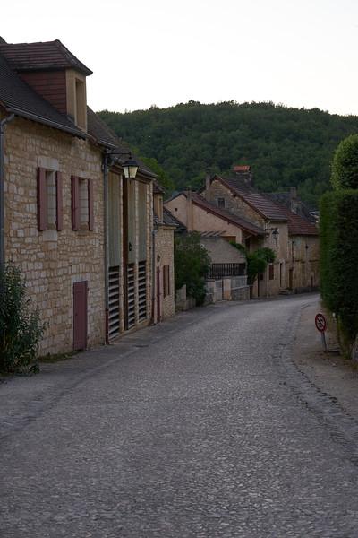 Quiet street St Armand de Coly