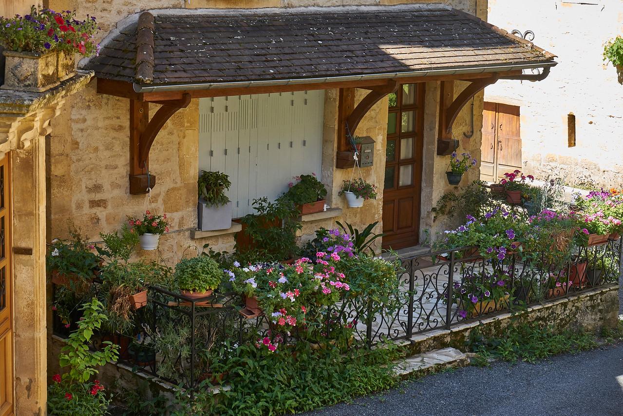 Inviting porch