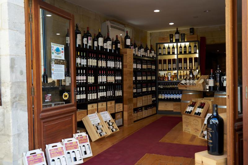 Wine Shop St Emilion