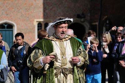 Henry VIII makes an appearance to explain how it's in England's best interest he marry another wife