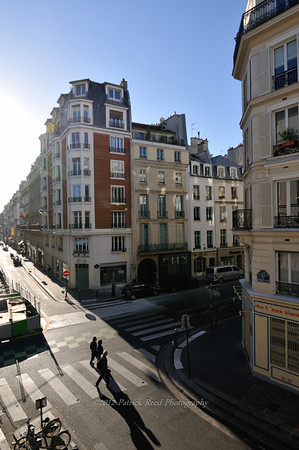 View from the Paris hotel room