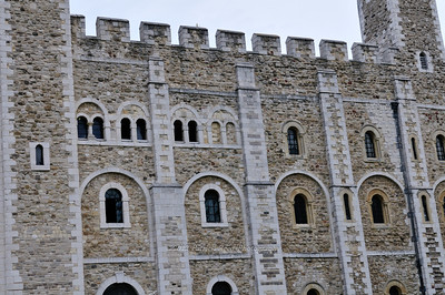 Close up of the White Tower
