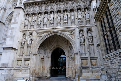 Front entrance to Westminster Abbey