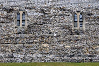 Windsor Castle wall stones