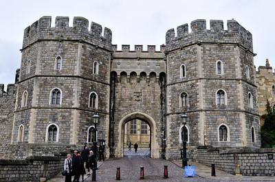 Entrance to Windsor Castle