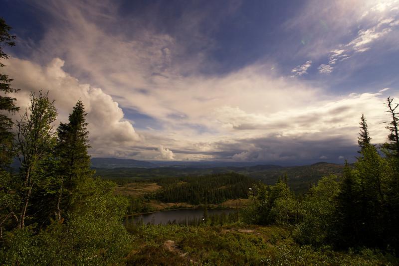 Mountain Lake near Trondheim