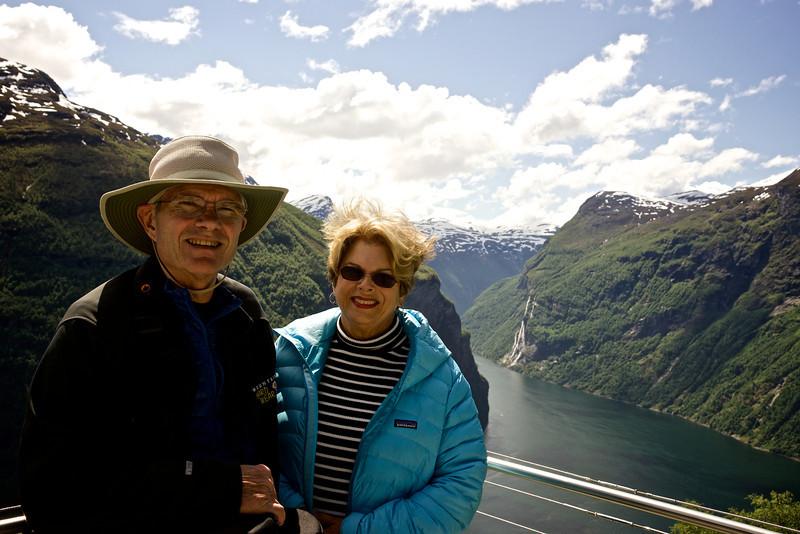 Geiranger Fjord Overlook