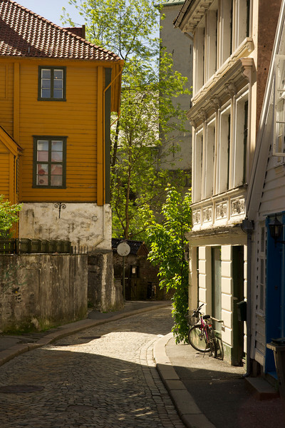 Byway near the City Center, Bergen