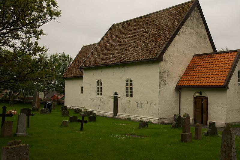 Giske Church since 1150
