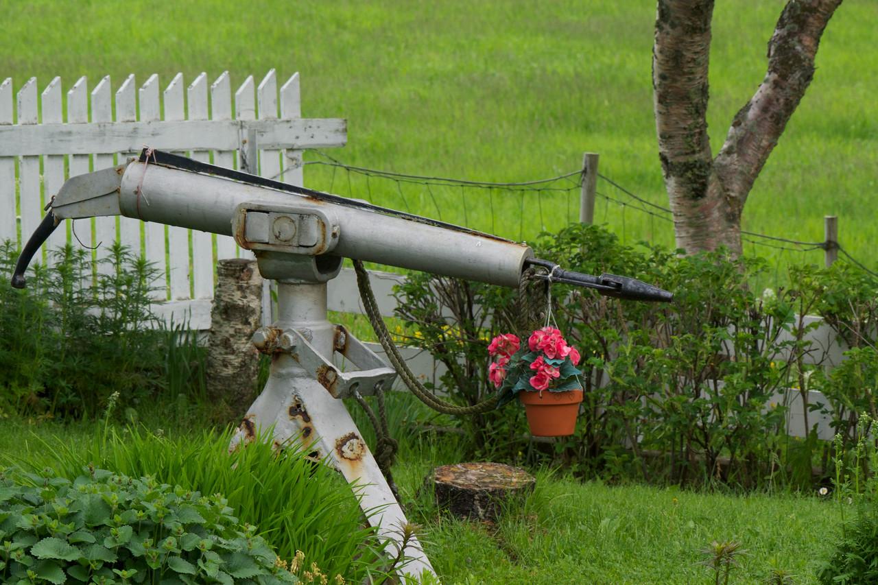 Make your Harpoon guns flower pots