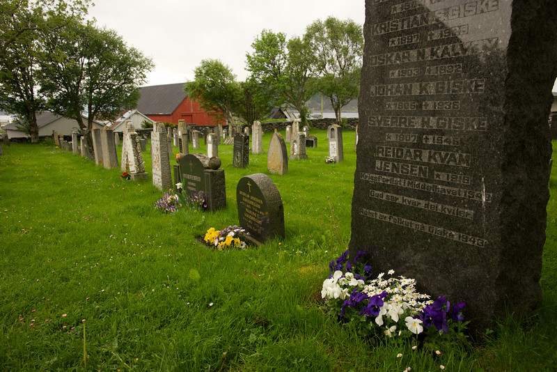 Gravestones Giske Church