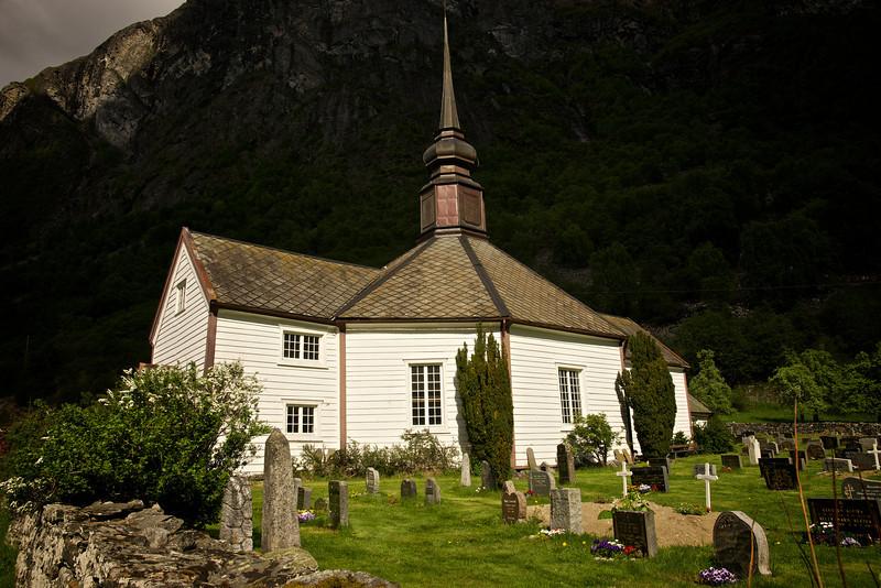 Wooden Church near Geiranger