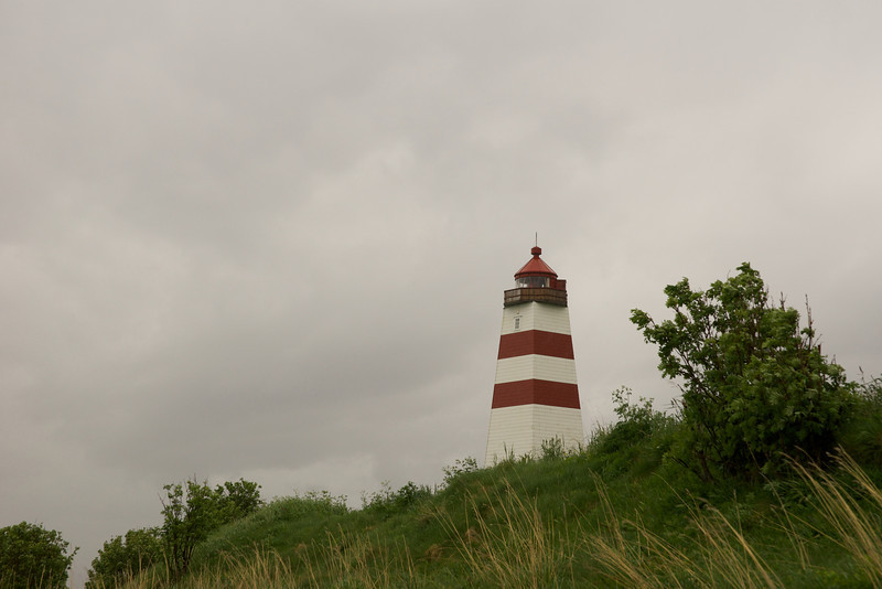 Alnes Lighthouse (a good place for chocolate cake.)