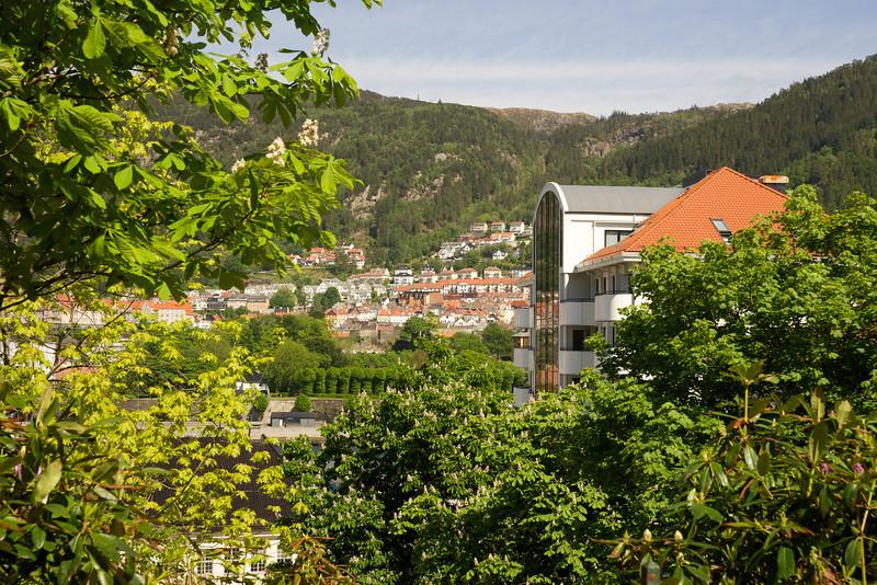 Looking Towards City Center, Bergen