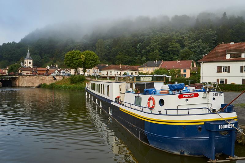 Neighboring barge