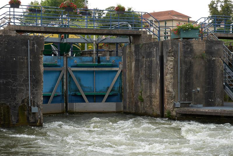 Lock releasing water