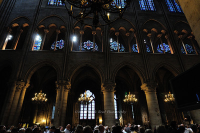 Interior of Notre Dame