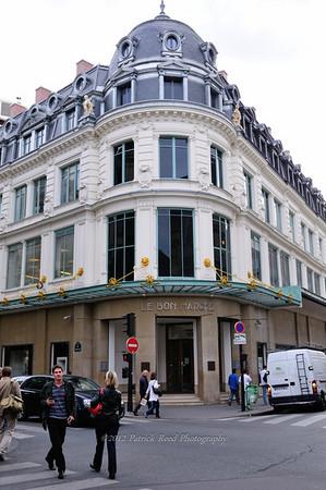 Le Bon Marche - a big department store in Paris