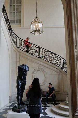 Inside the Rodin Museum