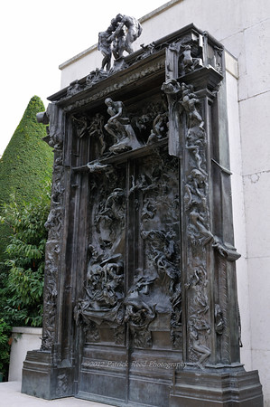 The Gates of Hell at the Rodin Museum