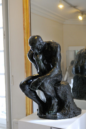 Another version of the the Thinker