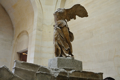 Winged Victory sculpture