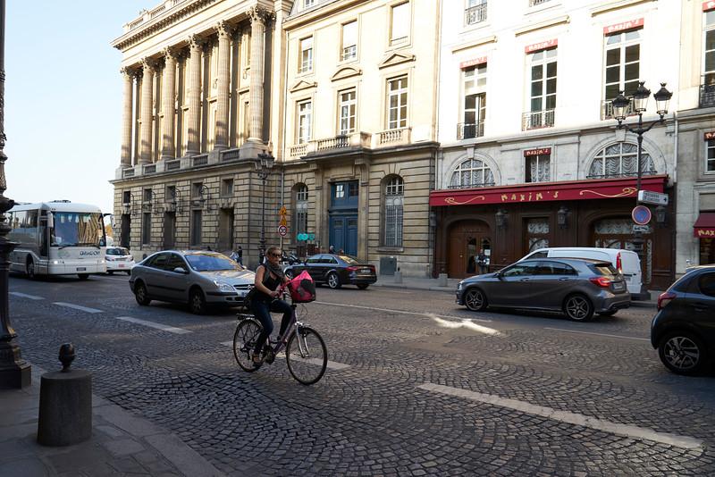 Maxim's Paris and street scene