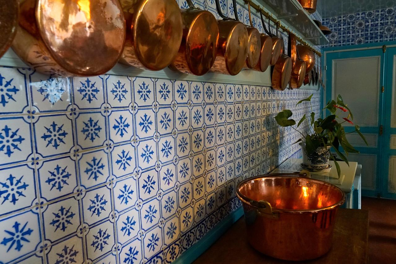 Monet's pots and pans