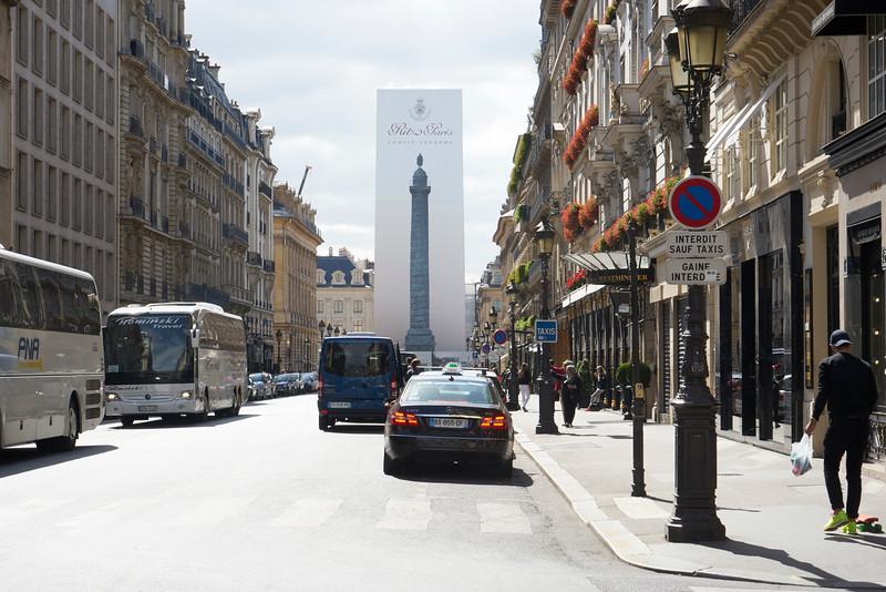 Beautifying renovation in Paris