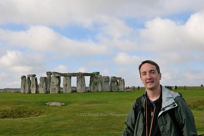Patrick at Stonehenge
