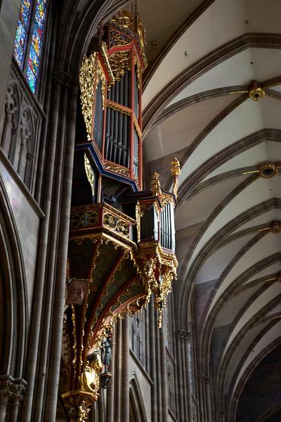 Pipe organ Notre Dame de Strasbourg