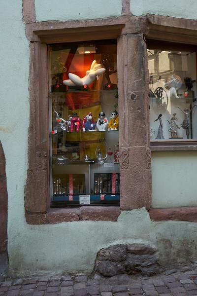 Eye catching window display Riquewihr