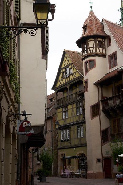 Examples of Alsatian architecture