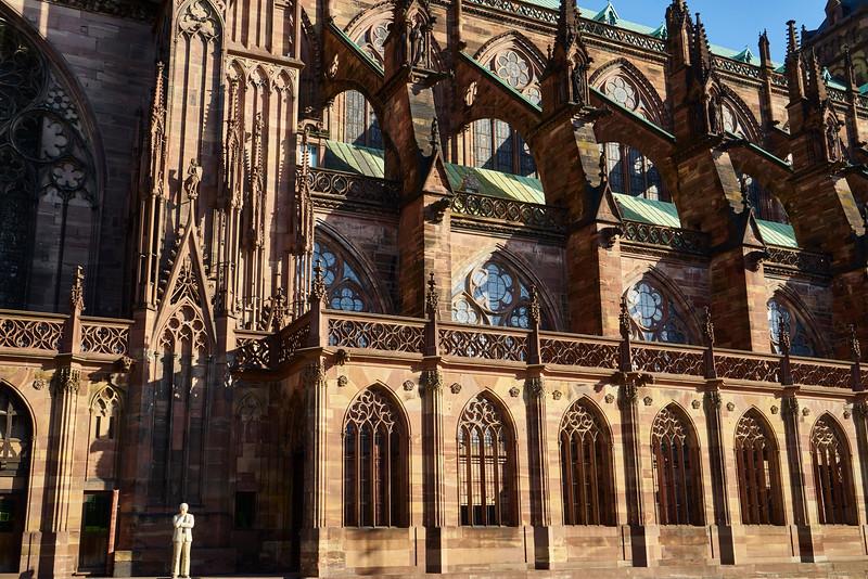 Flying butresses Notre Dame de Strasbourg