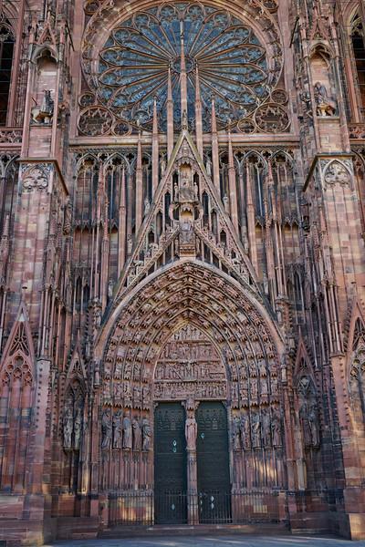 Front entrance Notre Dame de Strasbourg
